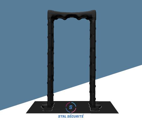 portique sécurité en 3D